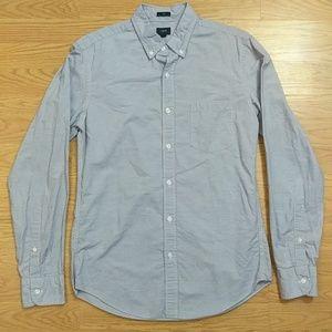 [J. Crew] Striped Slim fit Cotton Button Down M